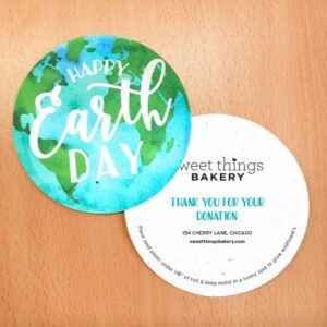 Plantable Earth Day Globe