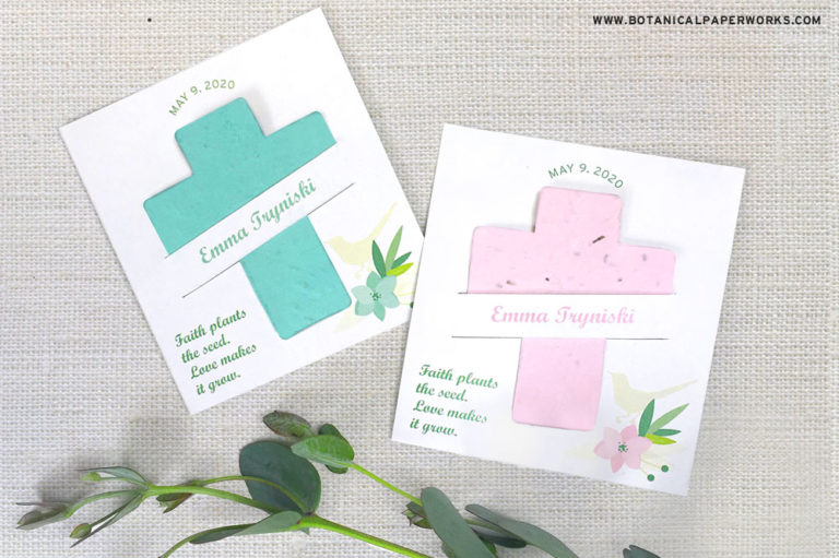 seed paper cross favors