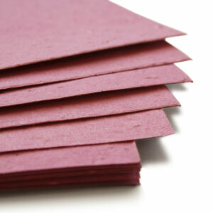 This eco-friendly 11 x 17 Berry Purple Plantable Seed Paper is embedded with wildflower seeds.