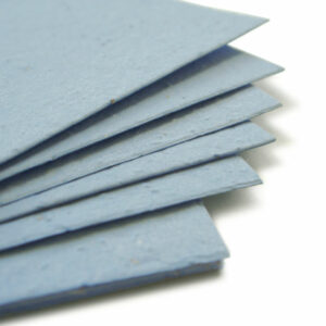 This 11 x 17 Cornflower Blue Plantable Seed Paper is eco-friendly.