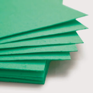 When this 11 x 17 Emerald Green Plantable Seed Paper is planted, it grows a bouquet of wildflowers.