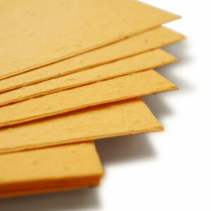 This 11 x 17 Marigold Yellow Plantable Seed Paper is eco-friendly and is embedded with wildflower seeds.