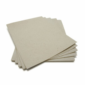 This eco-friendly 8.5 x 11 Dove Grey Plantable Seed Paper is embedded with wildflower seeds.