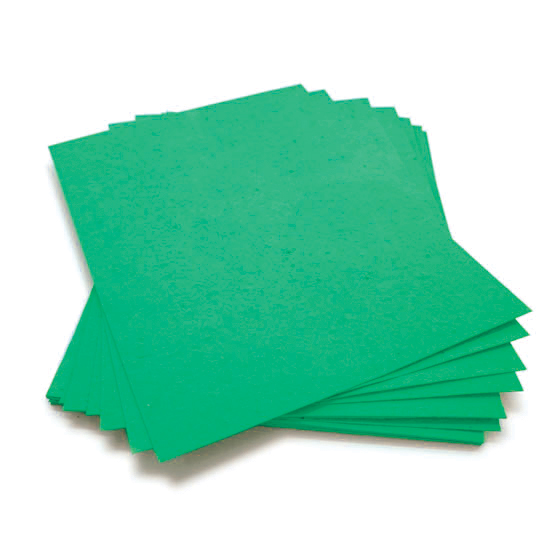 Plant this 8.5 x 11 Emerald Green Plantable Seed Paper to grow a bouquet of wildflowers.