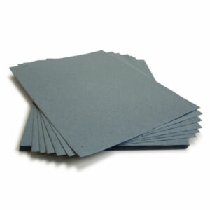 This eco-friendly 8.5 x 11 French Blue Plantable Seed Paper is embedded with wildflower seeds.