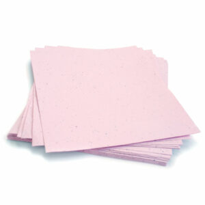 Plant this 8.5 x 11 Pastel Pink Plantable Seed Paper to grow a bouquet of wildflowers.