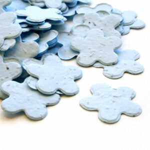 This biodegradable confetti in blue is eco-friendly, fun and so memorable!