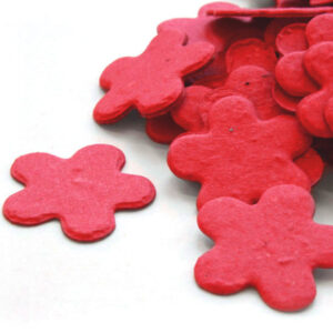 This Plantable Confetti in Bright Red is eco-friendly, fun and so memorable!