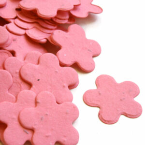 This eco-friendly biodegradable confetti can be taken home with guests to plant!
