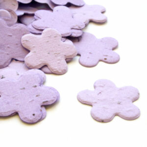 This Fbiodegradable confetti is perfect for an eco-friendly wedding or a green baby shower.