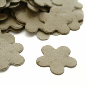 This biodegradable confetti embedded with seeds is perfect for an eco-friendly wedding or a green baby shower.