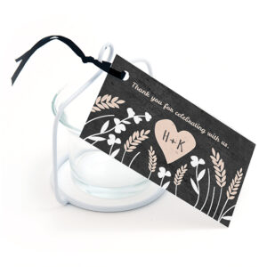 Prairie Love Seed Paper Favor Tags