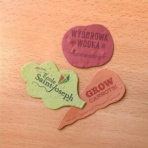 Veggie Die Cuts - Printed Single Sided