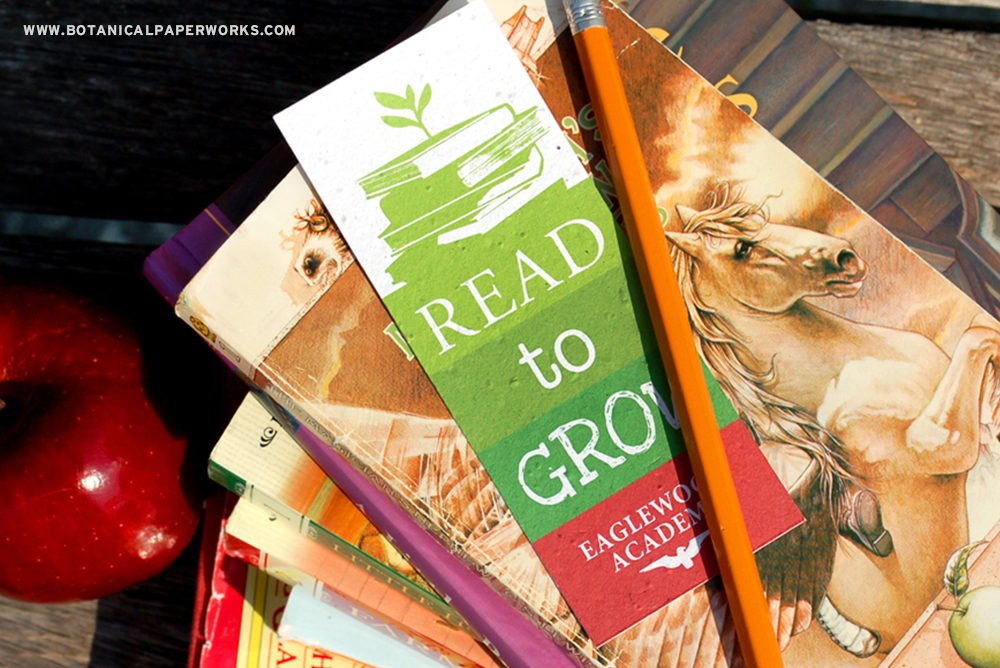 Read to Grow Seed Paper Bookmarks