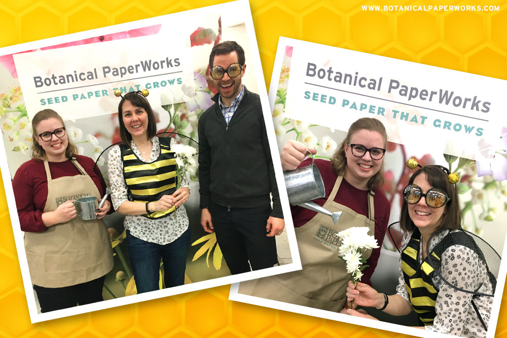 Botanical PaperWorks Save the Bees Photobooth
