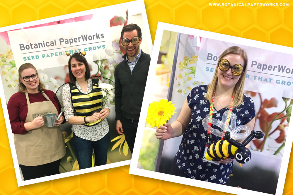 Botanical PaperWorks Save the Bees Photos