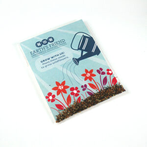 These Single Sided Wildflower Seed Packet Promotions are a fun and eco-friendly way to promote your company and brand.