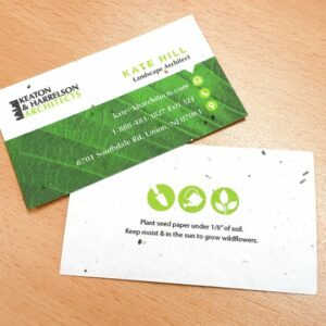 Eco Professional Seed Paper Business Card