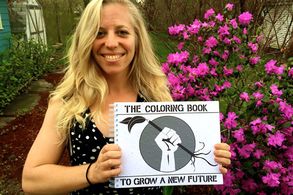 seed paper coloring book author