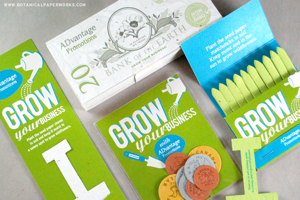 Seed Paper Promotional Products