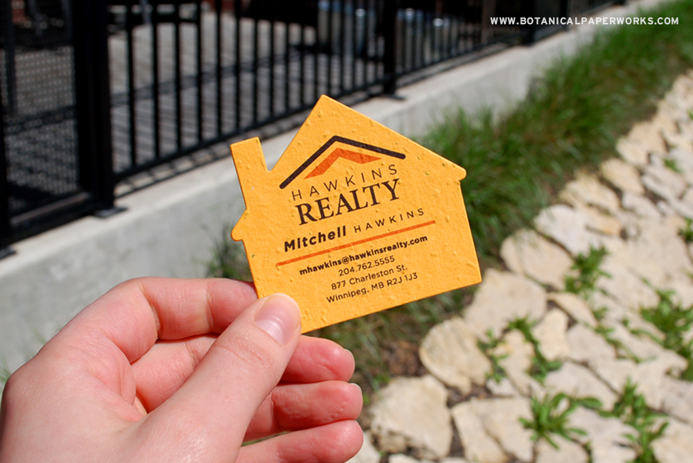 Seed Paper Promotional Items For Realtors