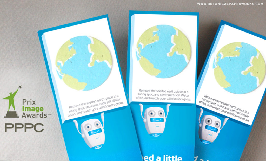 Take a look at how these eco-friendly seed paper bookmarks won the SILVER award at the PPPC Image Awards!