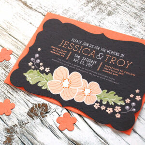 These award winnipeg seed paper wedding invitations are a beautiful touch for an eco-friendly wedding.