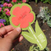Rounded Flower With Plantable Shape