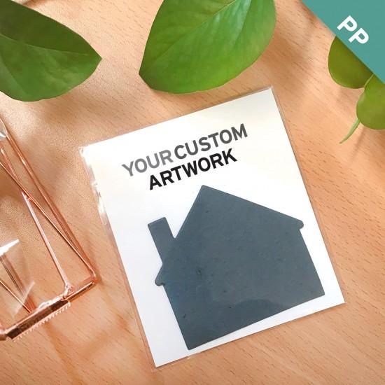 Custom Flat Card Seed Paper Giveaways