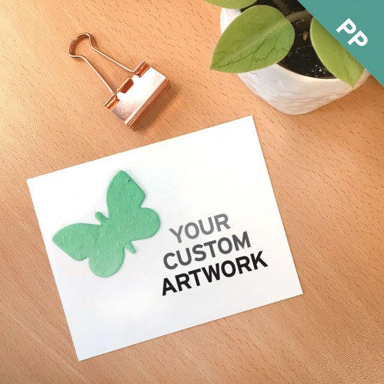 Small Eco Panel Cards With Shape