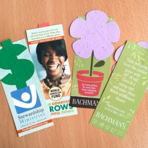 Small Eco Bookmark With Shape