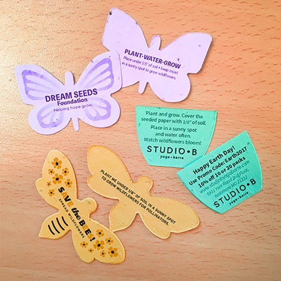 Small Die-Cuts - Printed Double Sided