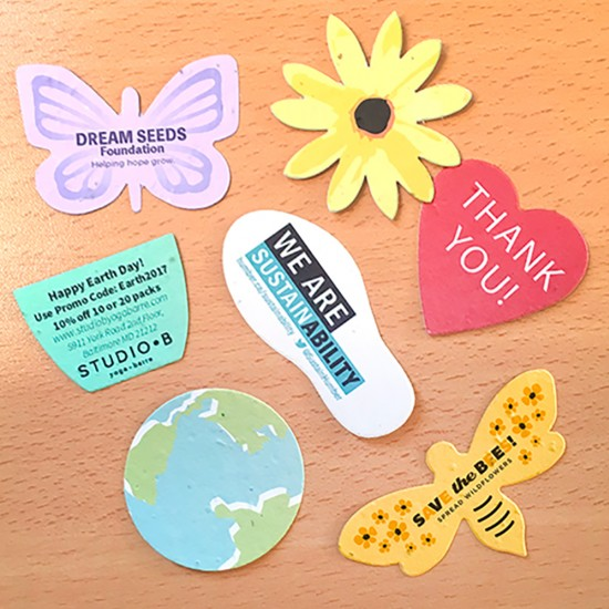 Small Die-Cuts - Printed Single Sided