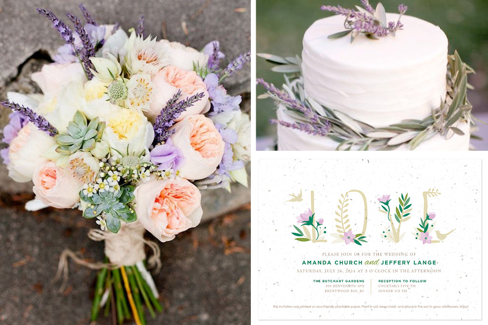 Stylish Summer Wedding Palettes