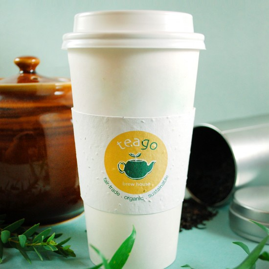 Seed Paper Coffee Cup Sleeves