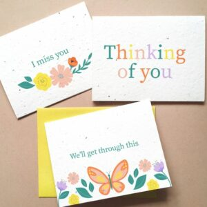 Thoughtful Plantable Seed Card Set