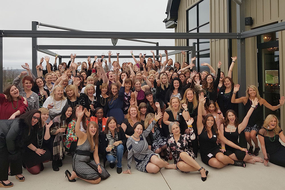 several women who attended PPPC's 10th Annual Women's Empowerment Event