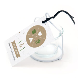 These Wilderness Plantable Favor Tags are eco-friendly and FUN!