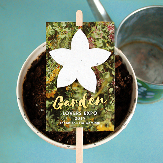 These Wildflower Planting Sticks are perfect for spring and summer!