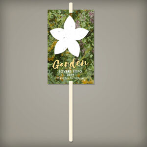 This Wildflower Planting Sticks give the gift of a plantable flower gift as well as a planting stick to mark the spot!