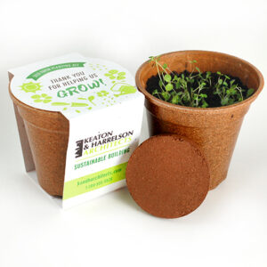 Wildflower Seed Paper Sprouter Kits are eco-friendly corporate gifts that will show appreciation and demonstrate your sustainability commitment in a unique way.