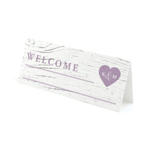 These Winery Seed Paper Place Cards are embedded with wildflower seeds, so they will welcome your guests and give them a plantable wedding favor.