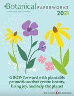 Botanical PaperWorks 2021 Promotional Products Catalog cover thumbnail