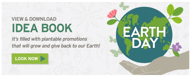 Celebrate Earth Day with Plantable Earth Day Promotions