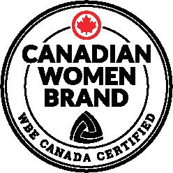 Canadian Women Brand Emblem - WBE Canada Certified