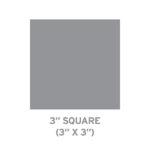 """3"""" Square"""