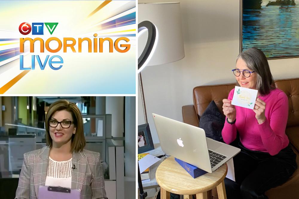 Botanical PaperWorks CEO Heidi Reimer-Epp on CTV Morning Live