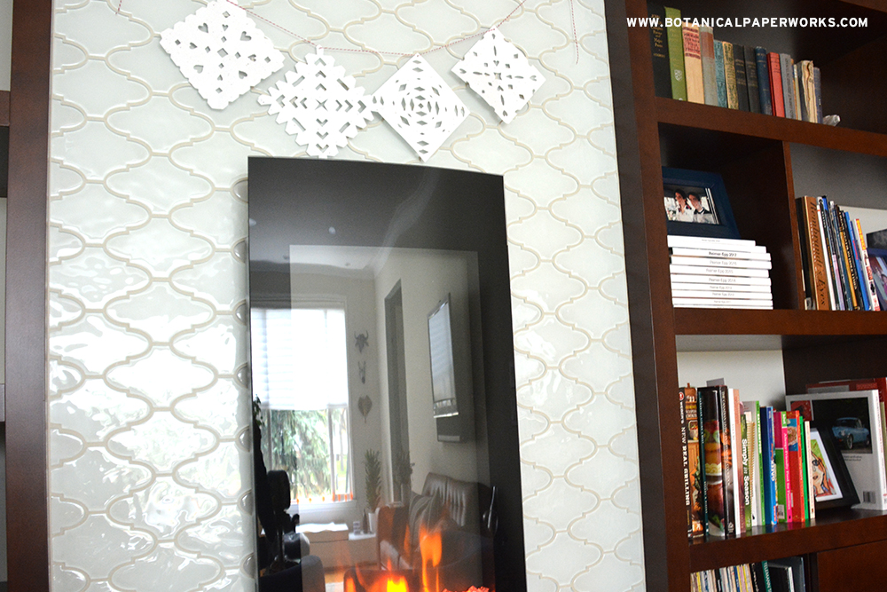 Easy-to-make seed paper snowflakes to decorate your home for the season.