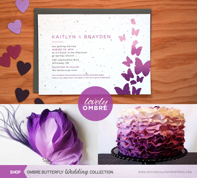 Summer wedding trend #1: Lovely Ombre