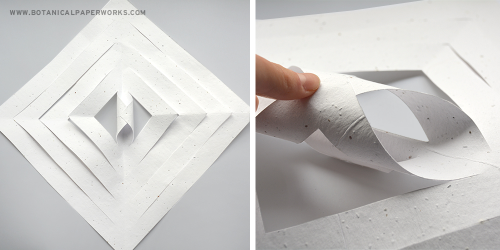 Learn to make 3D paper snowflakes in this step-by-step tutorial.